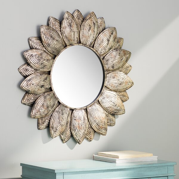 Bungalow Rose Seema Round Wall Mirror Amp Reviews Wayfair Ca