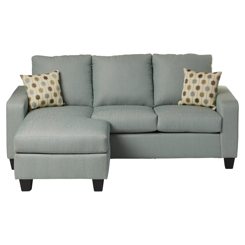 Ordinaire Morpheus Reversible Sectional With Ottoman