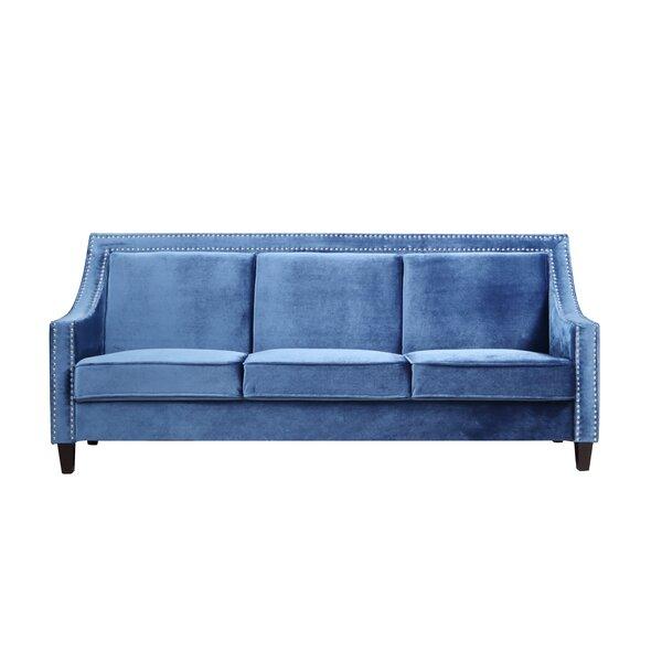 nailhead trim tufted sofa wayfair rh wayfair com tufted sofa with nailheads sectional sofa with nailheads