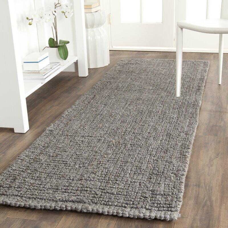 Greene Hand-Woven Gray Indoor Area Rug & Reviews