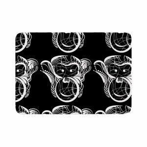 Maria Bazarova Monkey Animals Memory Foam Bath Rug