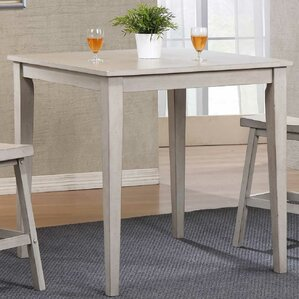 Rutledge Square Tall Dining Table by Rosecliff Heights