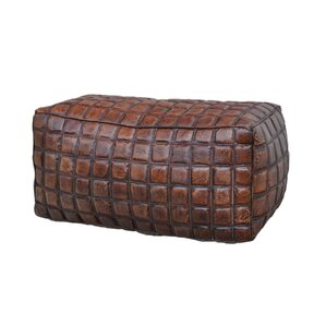 Leather Ottoman by NACH