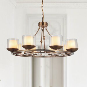 Hera 8-Light Shaded Chandelier
