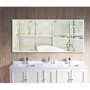 66 vanity double sink. Jammie Oversized Double Vanity Mirror 66 In  Wayfair
