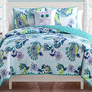 Barbra Reversible Quilt Set