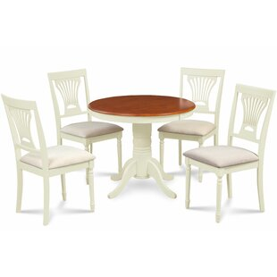 Kelston Mills 5 Piece Solid Wood Dining Set