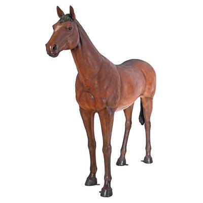 design toscano life size quarter horse filly statue wayfair