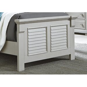 Hinsdale Panel Bed by Beachcrest Home