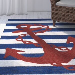 Sereno Handmade Blue Indoor / Outdoor Area Rug