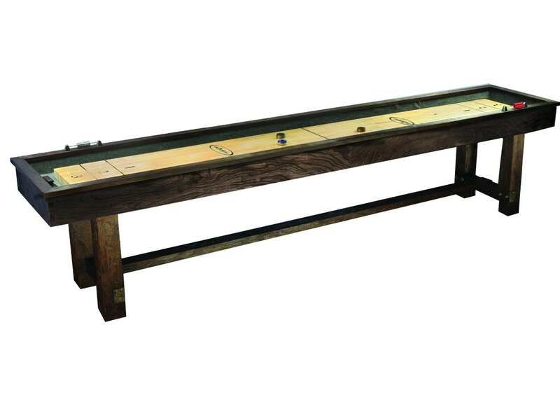 Imperial International Reno Rustic Shuffleboard Table Reviews - Portable shuffleboard table