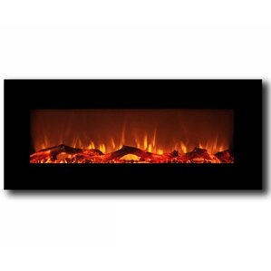 Krish Wall Mount Electric Fireplace by Varick Gallery