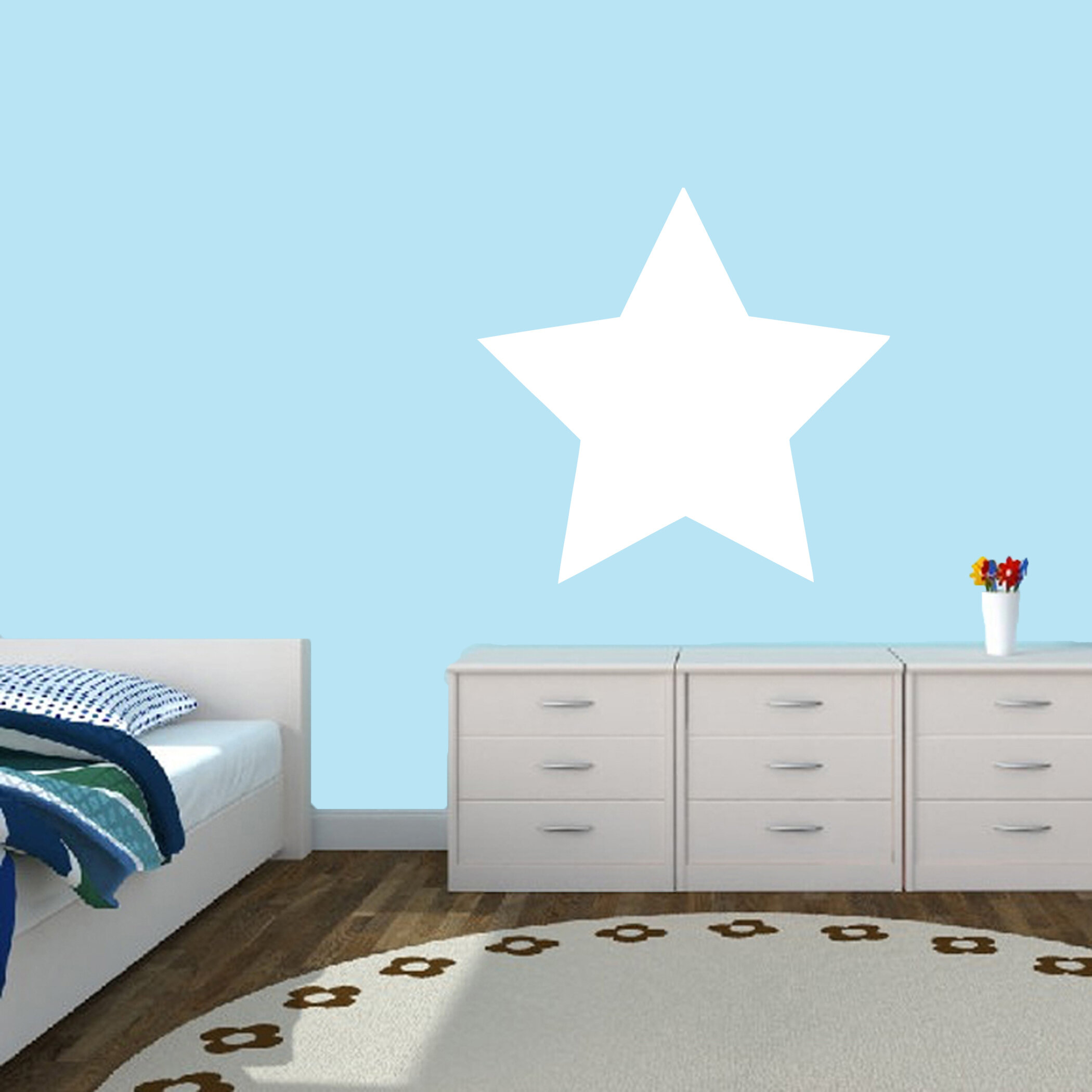 SweetumsWallDecals Dry Erase Star Whiteboard Wall Decal | Wayfair Part 93