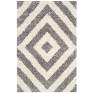 Slawson Power Loomed Beige/Gray Area Rug