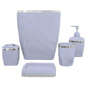 Bathroom Accessory Sets Blue Bathroom Accessories Youll Love Wayfair - Cheap bathroom accessory sets