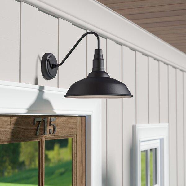 Laurel foundry modern farmhouse aurelia 1 light outdoor - Commercial exterior lighting manufacturers ...