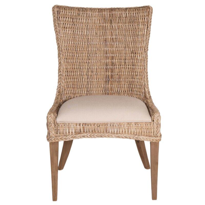 Nice Topher Wicker Side Chair