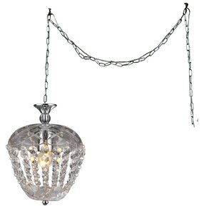 Miriam 1-light Crystal Chandelier