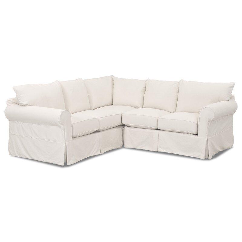 Wayfair Custom Upholstery™ Felicity Sectional & Reviews