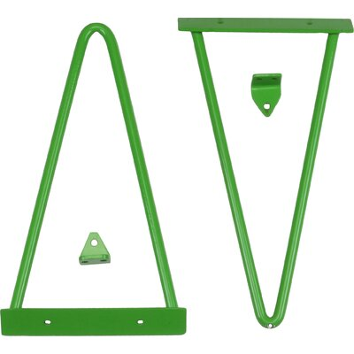 Tronk Design Adams Shelf Bracket Finish: Green