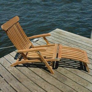 Steamer Teak Indoor/Outdoor Lounge Chair