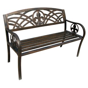 4172131958b Michelle Metal Garden Bench