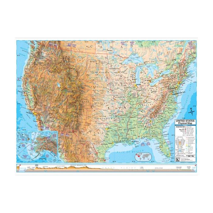 U.S. Advanced Physical Map