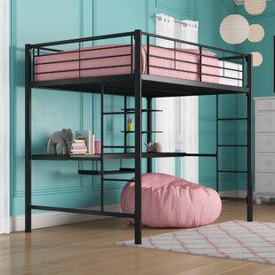 Quickview & Desk Full Loft Beds You\u0027ll Love | Wayfair