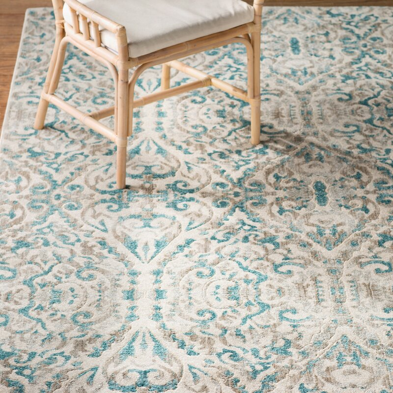 Saleya Turquoise Area Rug
