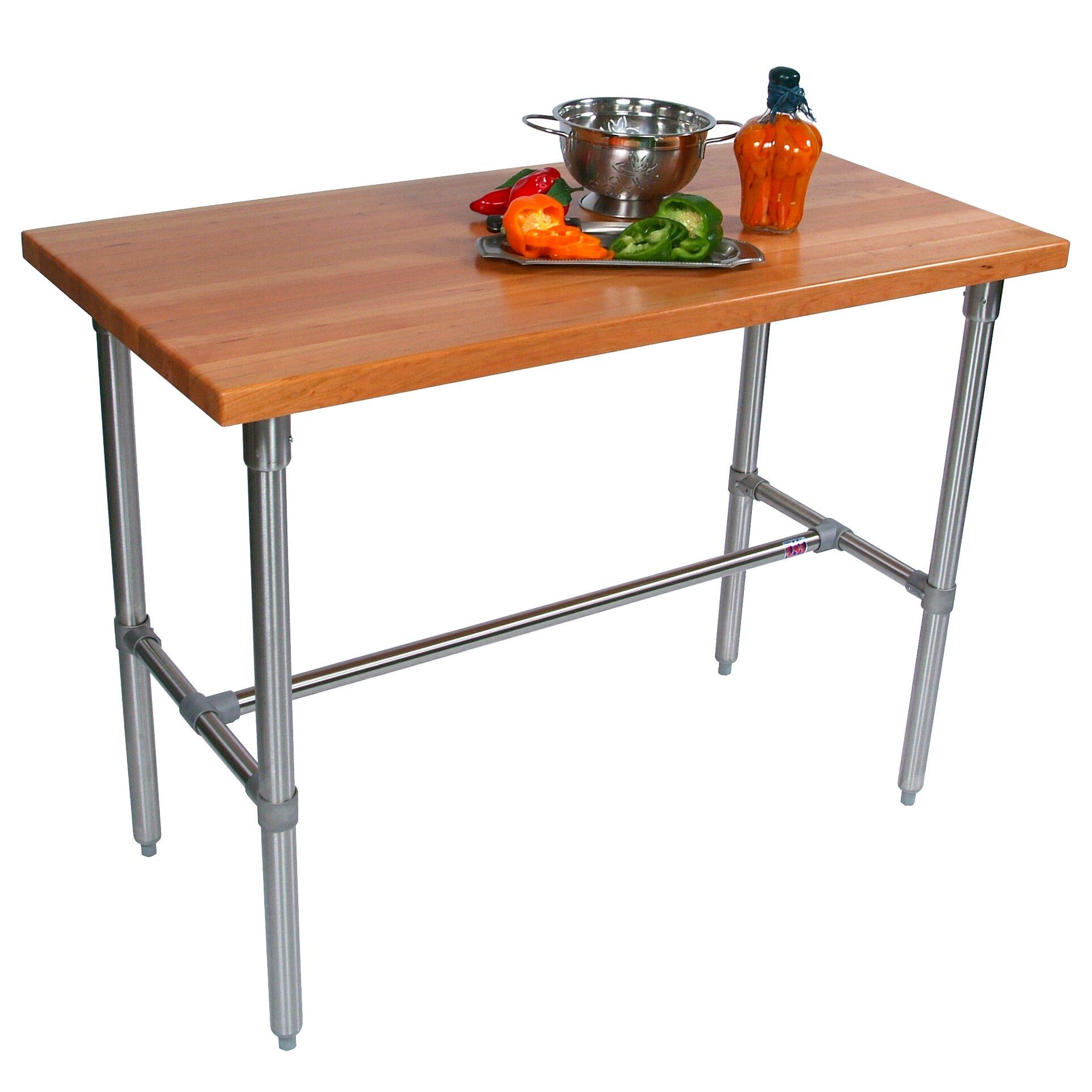 Super John Boos Cucina #5: Cucina+Americana+Counter+Height+Extendable+Dining+Table.jpg