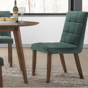 Singleton Tufted Upholstered Dining Chair (Set of 2)