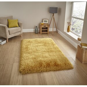 Ryder Hand-Tufted Yellow Rug