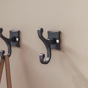 Decorative Scroll Double Hook