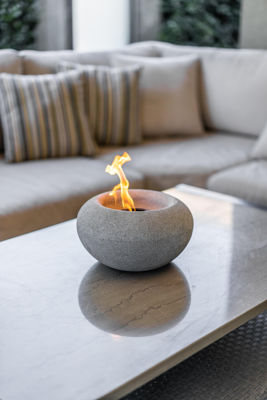 Terra Flame Stone Gel Fuel Tabletop Fireplace Wayfair