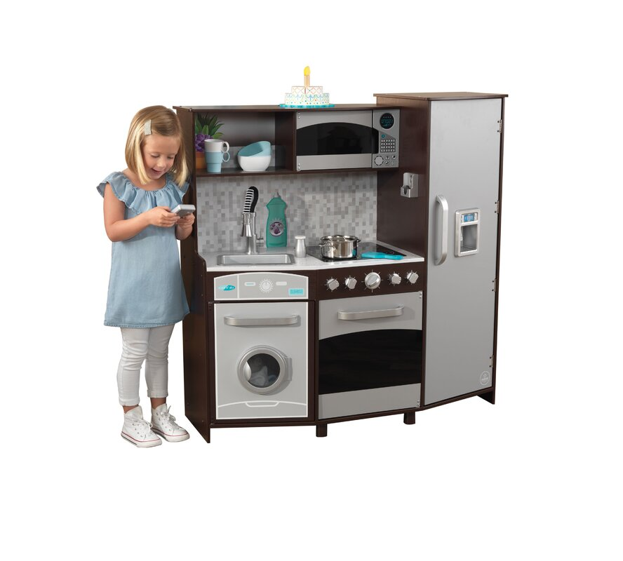 Large Play Kitchen: KidKraft Large Play Kitchen Set & Reviews