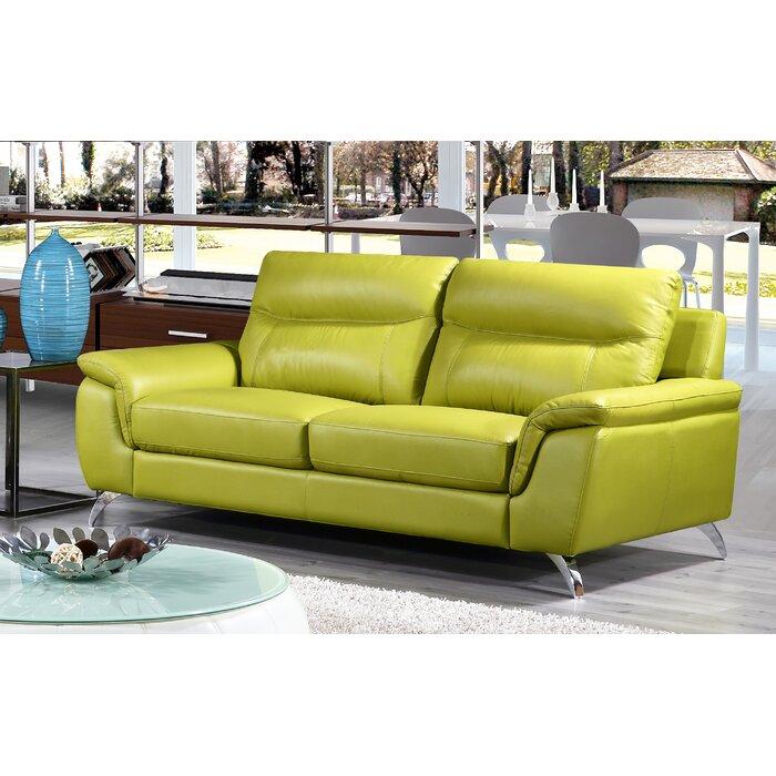 Lorrain Leather Sofa