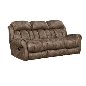 Orient Reclining Sofa by Loon Peak