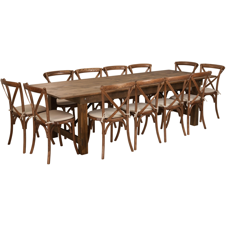 Exceptionnel Gracie Oaks Pitre 13 Piece Dining Set | Wayfair