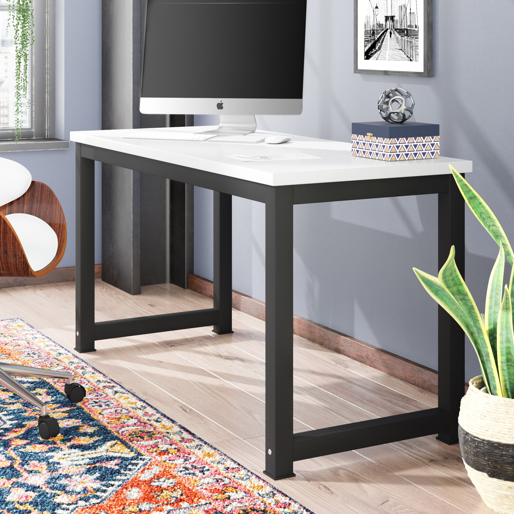 home office writing desk. Ebern Designs Capson Writing Desk To 55\ Home Office I