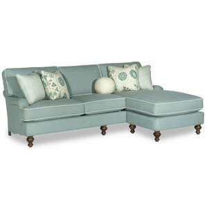 Lillian Reversible Sectional by Paula Deen Home