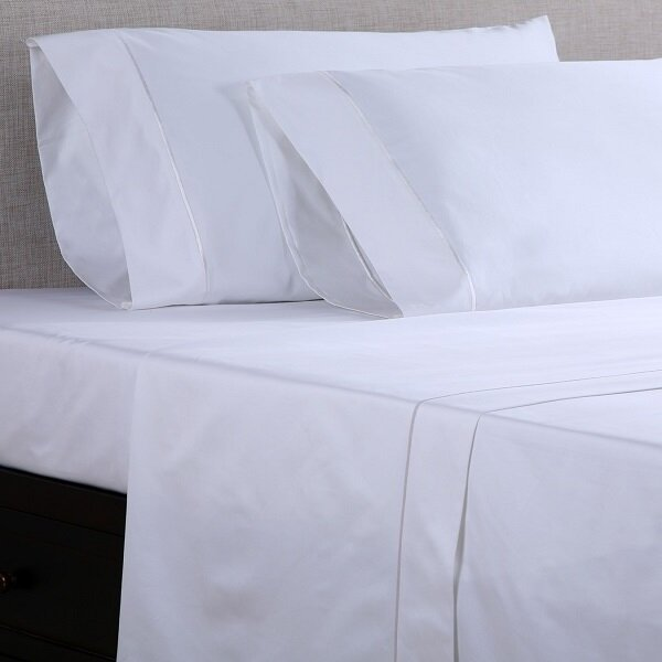 Affluence Home Fashions 1000 Thread Count Cotton Sateen Sheet Set U0026 Reviews  | Wayfair