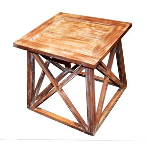 Fearon Wooden End Table by..