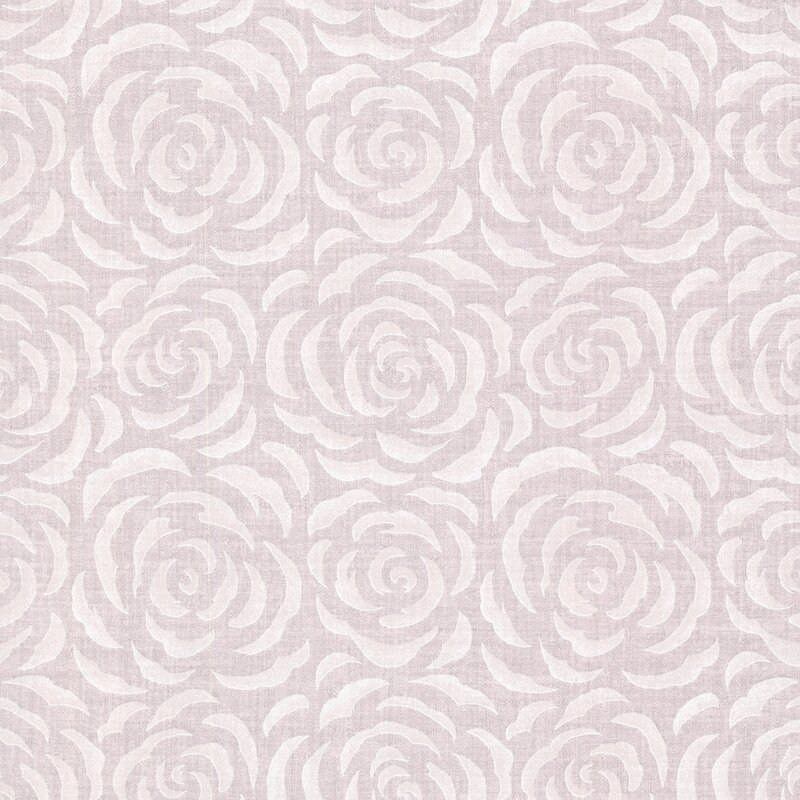 Brewster Home Fashions Naturale Rosette 33 x 205 Rose 3D