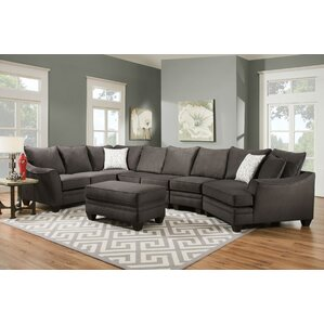 Candace Sectional  sc 1 st  Wayfair : sectional sofa cuddler - Sectionals, Sofas & Couches