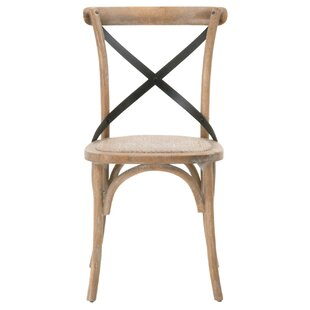 Carnaghliss Solid Wood Dining Chair (Set of 2)