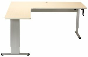 Latitude Run Maciejewski L Shape Standing Desk With Banded Edge