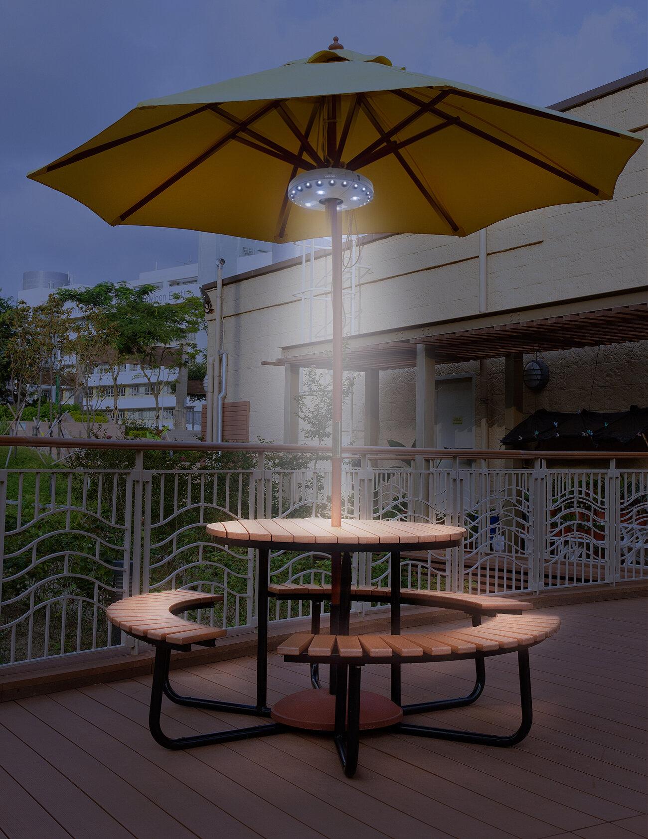 Sorbus Patio Umbrella Light & Reviews