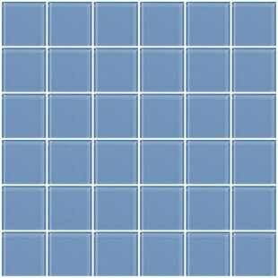 Bijou 22 2 X Gl Mosaic Tile In Light Periwinkle Blue