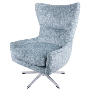 Vandoren Swivel Wingback Chair by George Oliver