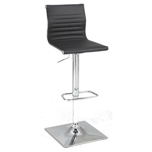 Boardman Adjustable Height Bar Stool by Wade Logan
